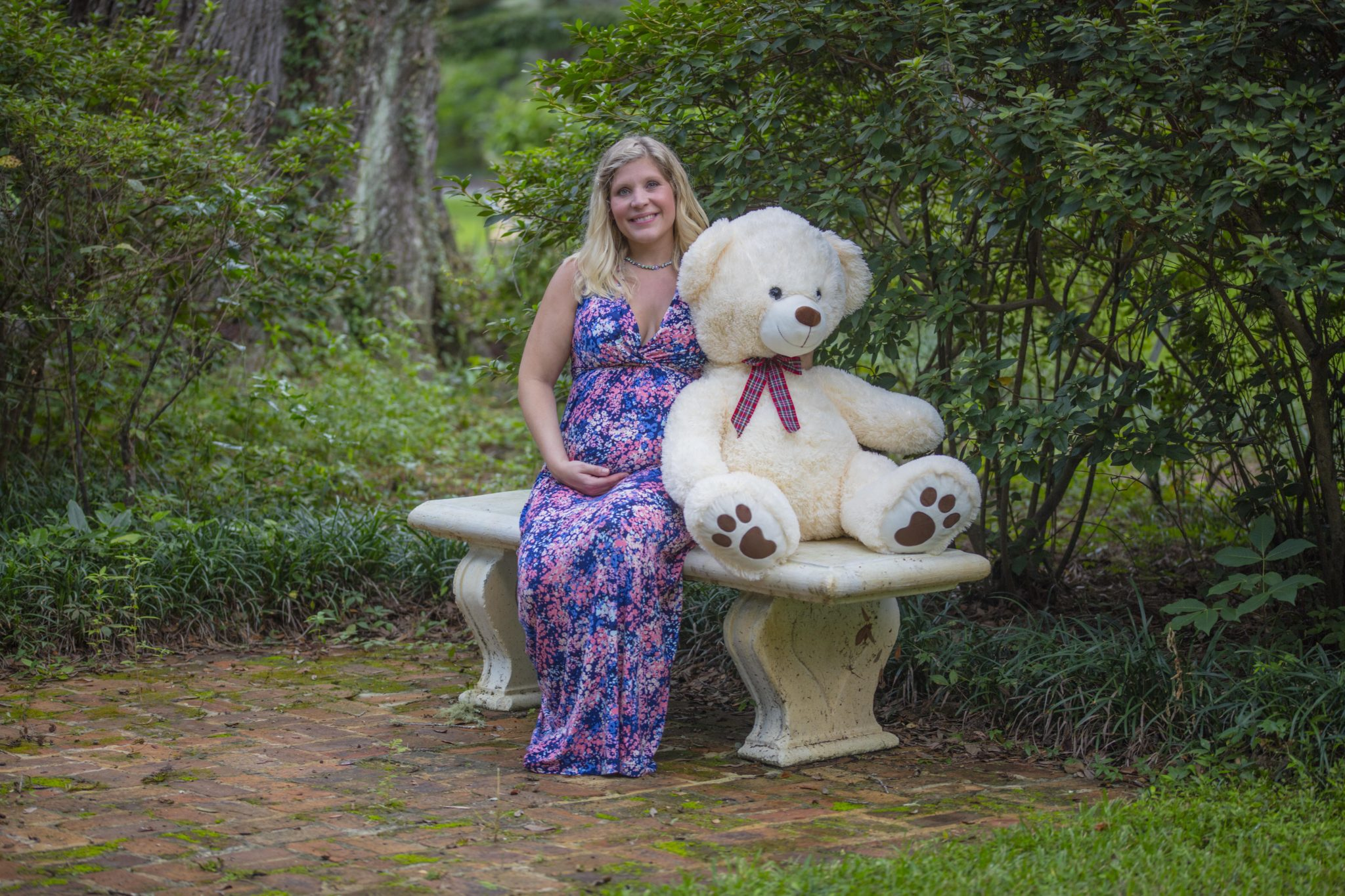 Jessica Pregnancy Photoshoot At Grayton Beach State Park